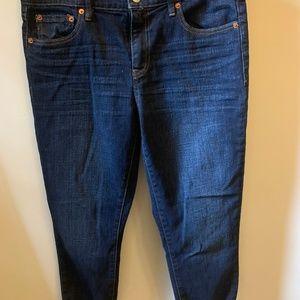 Mid-Rise Girlfriend Jeans GAP